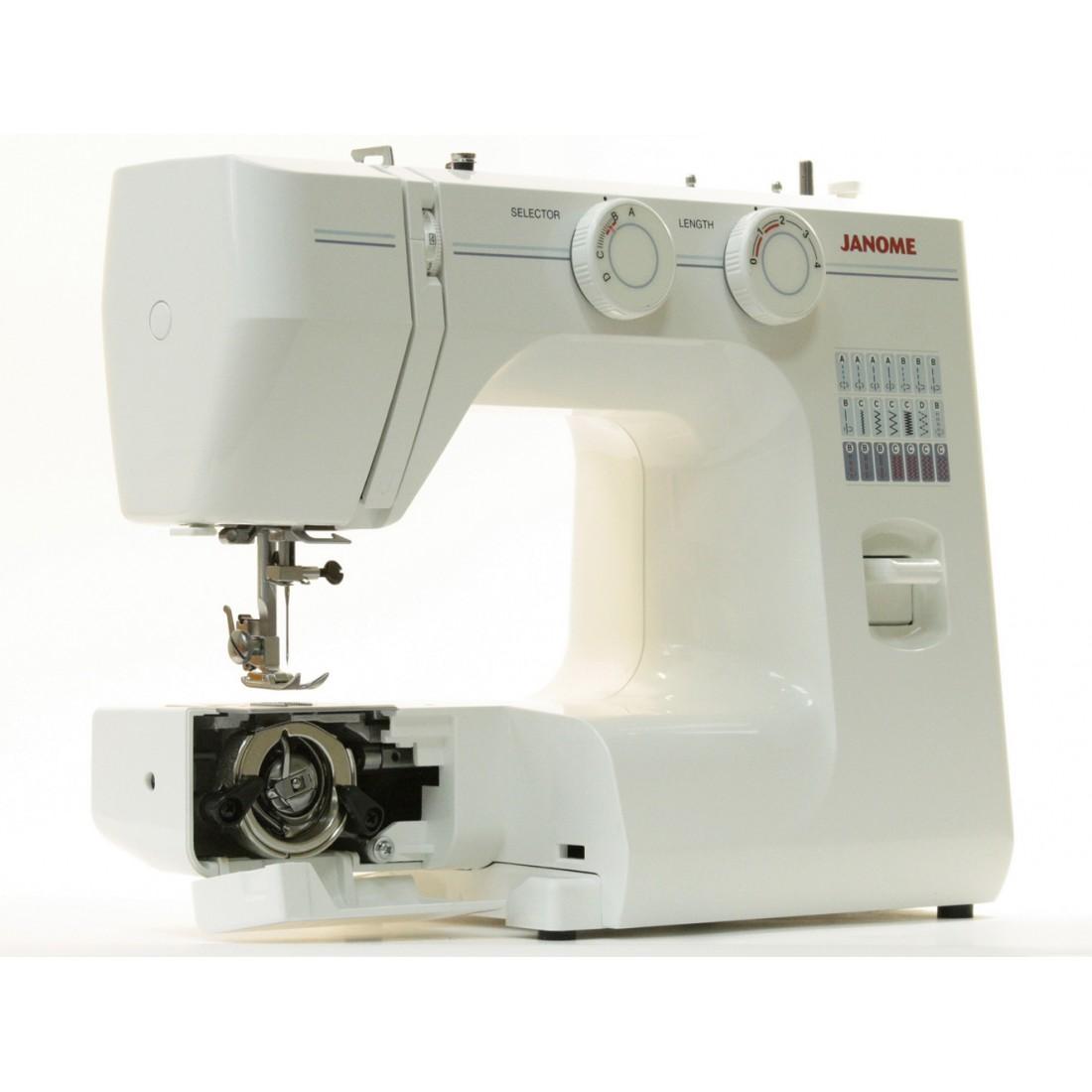 Регулировка швейной машинки джаноме своими руками 14