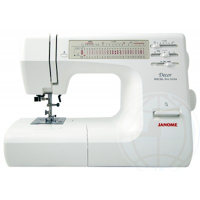 Швейная машинка Janome Decor Excel Pro 5124