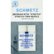 Иглы Schmetz двойная для трикотажа