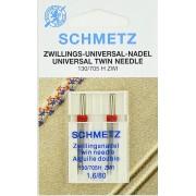 Иглы Schmetz двойные универсальные